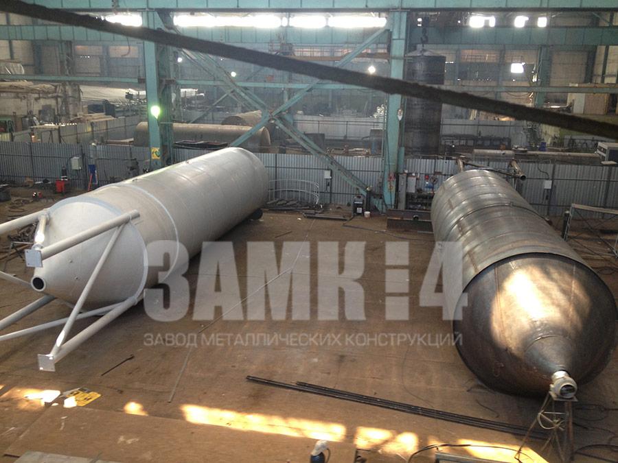 силос для хранения цемента стальной